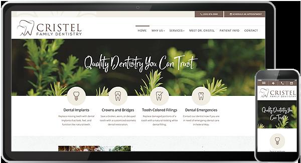 Cristel Family Dentistry Website