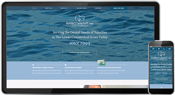 Keith Campbell, DMD Website