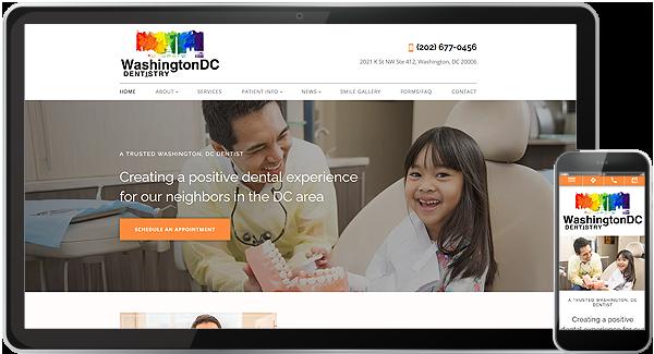 Washington DC Dentistry Website