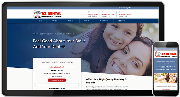 AZ Dental Website
