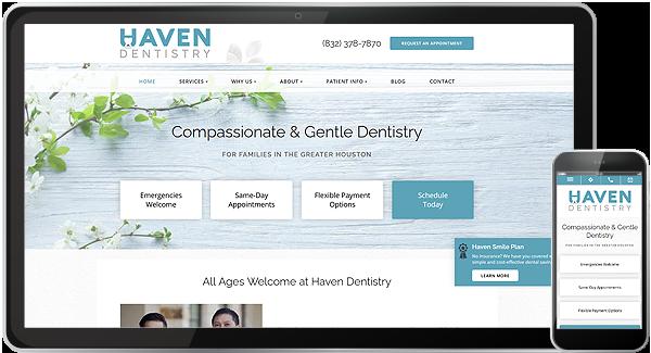 Haven Dentistry Website