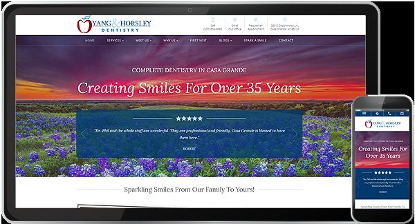 Yang and Horsley Dentistry Website