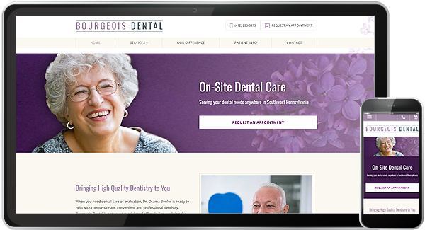 Bourgeois Dental Website