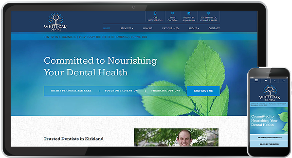 White Oak Dental Health Website